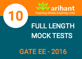 GATE EE 10 Full Length Mock Tests