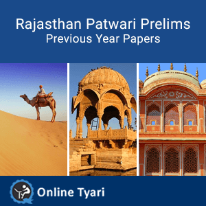 Previous Year Papers 2011 for Rajasthan Patwari Prelims