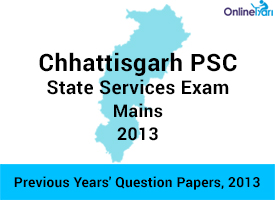CGPSC Mains Previous Year Paper-History