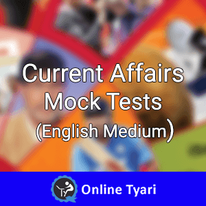 Current Affairs Mock Tests Monthly from Feb 2015
