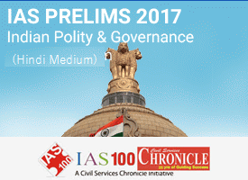 IAS Prelims 2017 - NCERT Polity Test Hindi