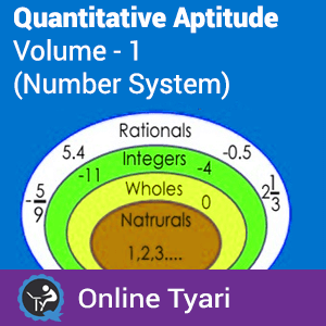 Quantitative Aptitude Volume - 1 Number System