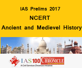 IAS Prelims 2017- NCERT Ancient and Medieval History Mock Test