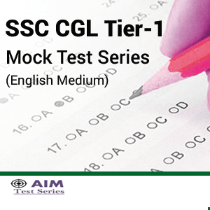 SSC CGL Tier- I 2016 Mock Test Series