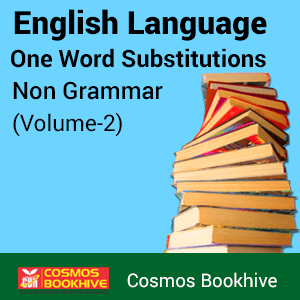 English Language Non Grammar Volume- 2 One Word Substitutions