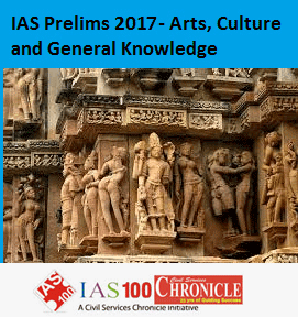 IAS Prelims 2017- Arts, Culture and General Knowledge