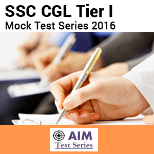 SSC CGL Combined Graduate Level Tier-I Mock Test Series 2016