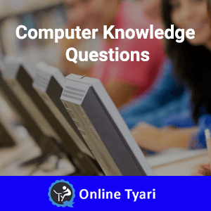 Computer Knowledge Question Bank