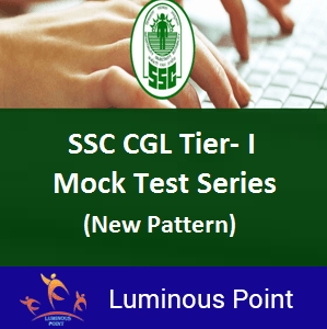SSC CGL Tier-I Mock Test Series New Pattern
