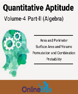 Quantitative Aptitude Volume- 4