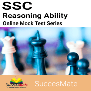 SSC Reasoning Ability Mock Test Series