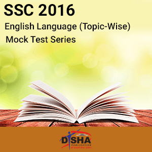 SSC 2016- English Language Topic-Wise Mock Test Series