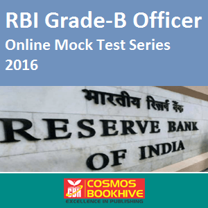 RBI Grade-B Officer Mock Test Series 2016