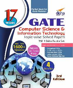 17 Years Topic-wise Solved Papers for GATE CSIT