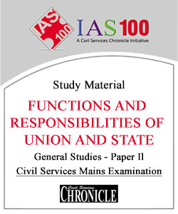 Functions and Responsibilities of Union and State Notes for