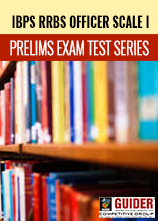 IBPS RRBs Officer Scale I PRELIMS EXAM Test Series