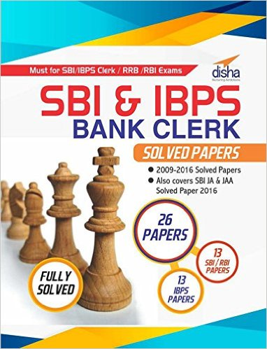 SBI and IBPS Clerk Previous Year Solved Papers