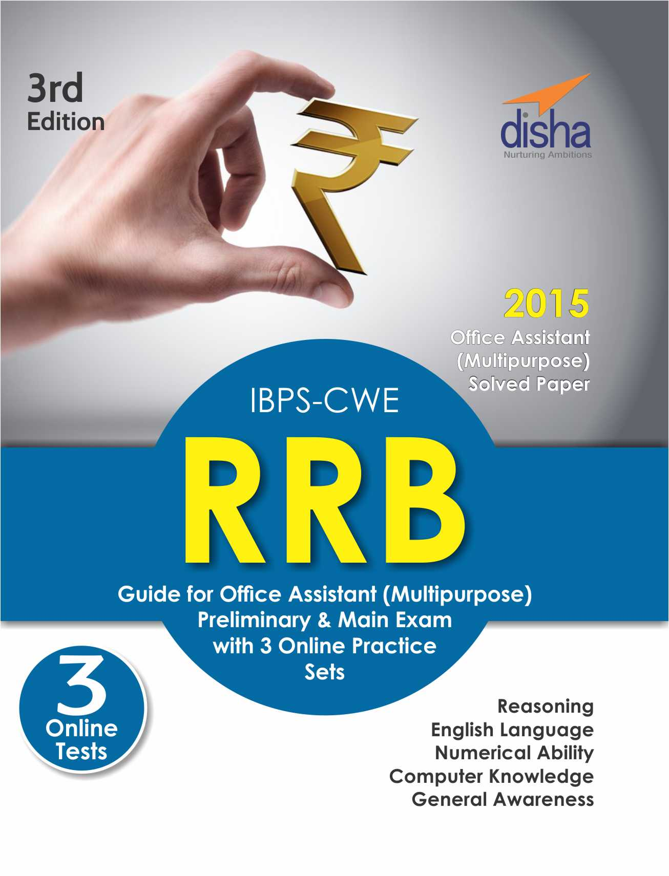 IBPS-CWE RRB Guide for Office Assistant Multipurpose Prelims and Mains Exam