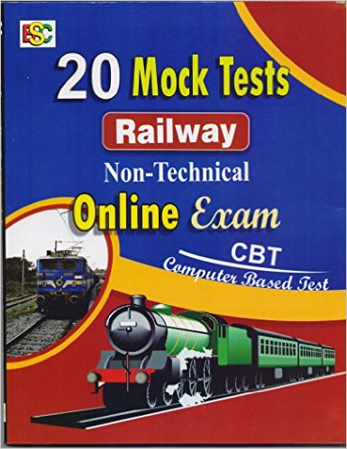 20 Mock test railway non-technical online exam