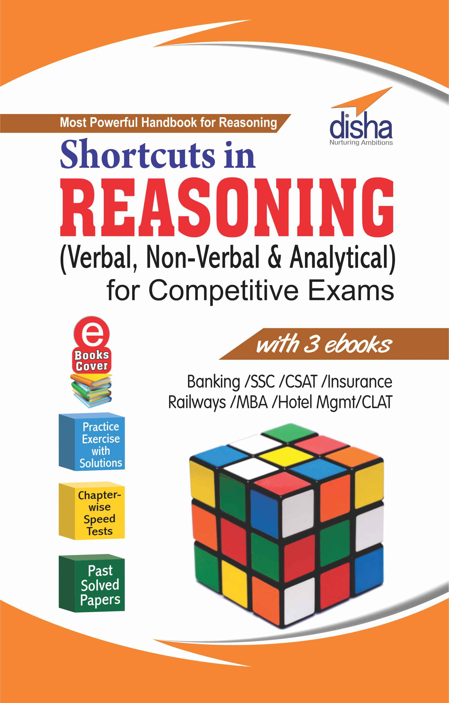 Shortcuts in Reasoning Verbal and Non-Verbal for Competitive Exams