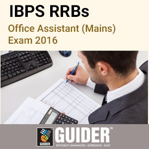 IBPS RRBs Office Assistant (Mains) Exam 2016 Mock Test