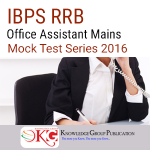IBPS RRB Office Assistant Mains Mock Test Series 2016