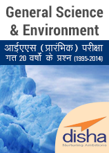 Previous Years General Science and Environment Questions for IAS Exam 1995 to 2014 हिंदी