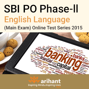 SBI PO Mains (English) Mock Tests