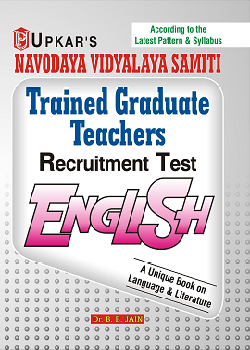 Navodaya Vidyalaya Samiti TGT English Recruitment Test