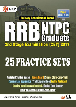 RRB NTPC 25 Practice Sets  Stage 2 Exam (CBT) 2017