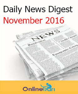 Daily News Digest November 2016