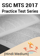 SSC MTS 2016-17 Practice Test Series Hindi