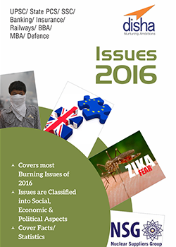 Top Issues 2016 - General Awareness and Current Affairs Vol. 2 for Competitive Exams