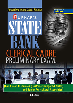 State Bank Clerical Cadre Preliminary Exam Book