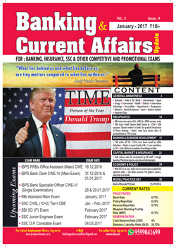 Banking and Current Affairs January 2017