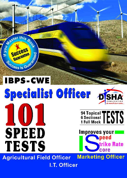 IBPS-CWE Specialist Officer 101 Speed Tests - AgricultureMarketingIT