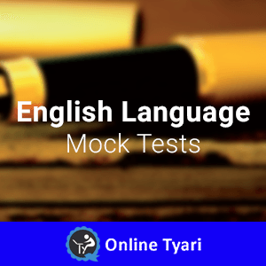General English Mock Test Series