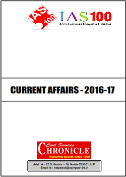 Current Affairs 2016-17 for IAS Prelims