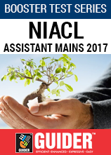 Booster Test Series NIACL Assistant Mains 2017