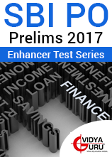SBI PO Prelims 2017 Mock Test Series