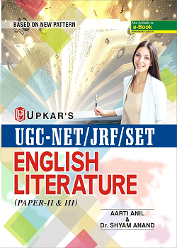 UGC NET JRF SET English Literature Paper - II and III