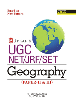 UGC NET JRF SET Geography Paper-II and III