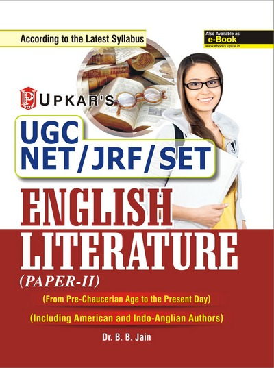 UGC NET JRF SLET English Litreture Paper II