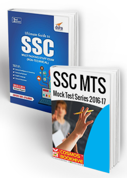 Combo Of SSC MTS (Non Technical) Exam 2nd Edition and Online Mock Test Series (Cosmos BookHive)