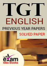 TGT English Previous Year Solved Paper