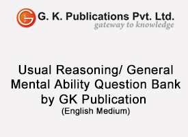 CHSL (10+2)- Usual Reasoning/ General Mental Ability
