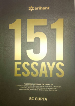 151 Essays for UPSC Mains various State PSCs  and other competitive examinations