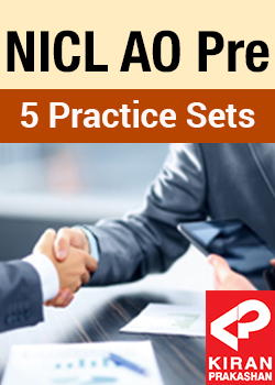 5 Practice Sets for NICL AO Prelims 2017