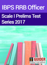 IBPS RRB Officer Scale I Prelims Test Series 2017