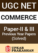 UGC NET  Commerce Paper 2 and 3 Previous Year Solved Papers - 2006 to 2014